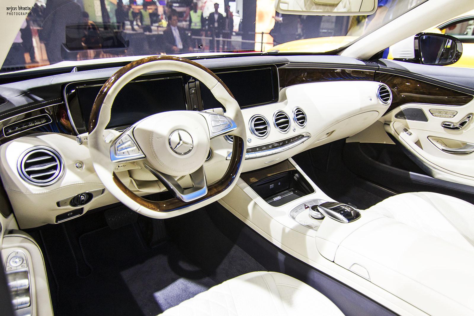 Mercedes-Benz S-Class Cabriolet Delhi Auto Expo 2016 4