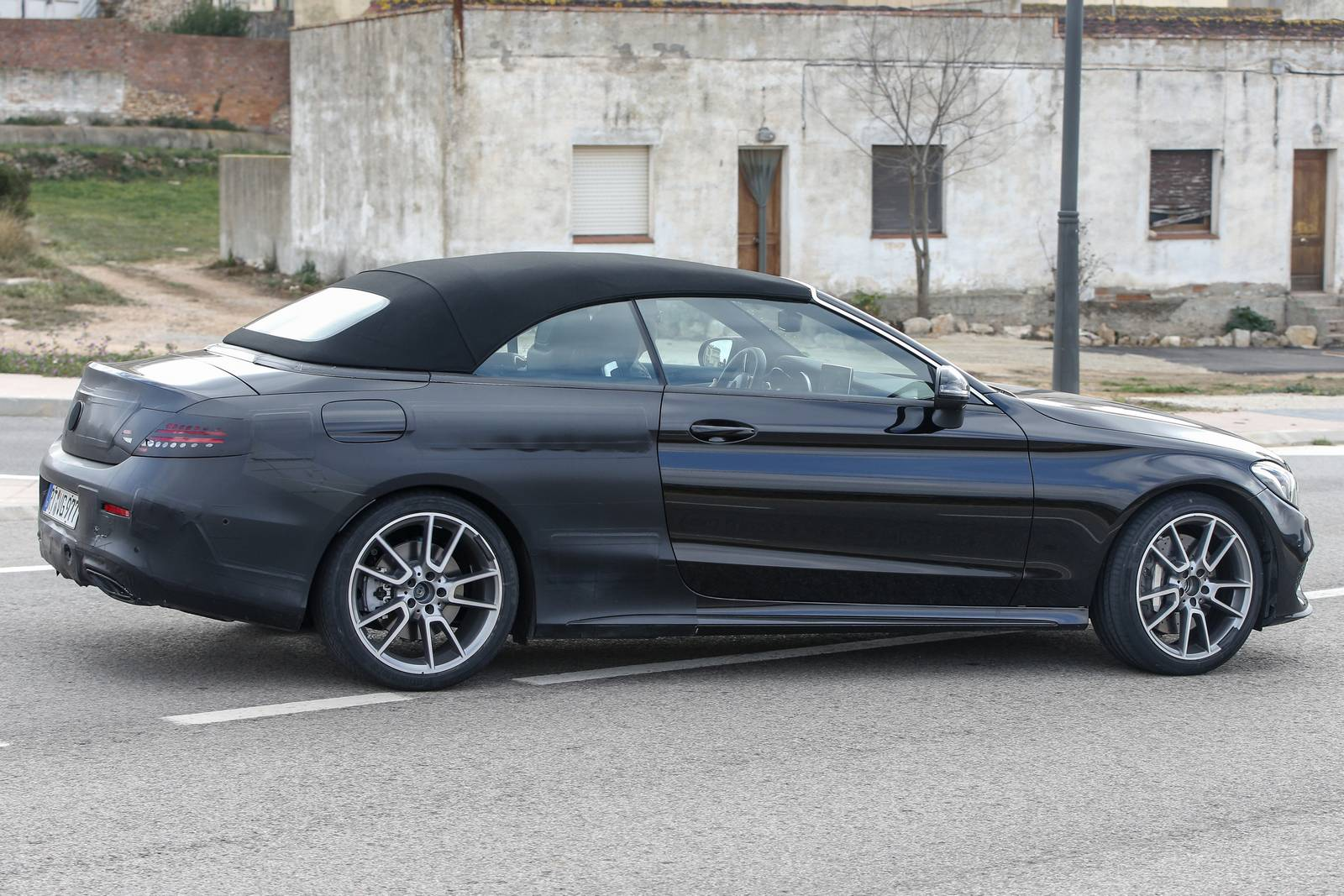 Mercedes amg c43 and c63 cabriolet spy shots emerge gtspirit for 2017 mercedes benz amg c43 convertible