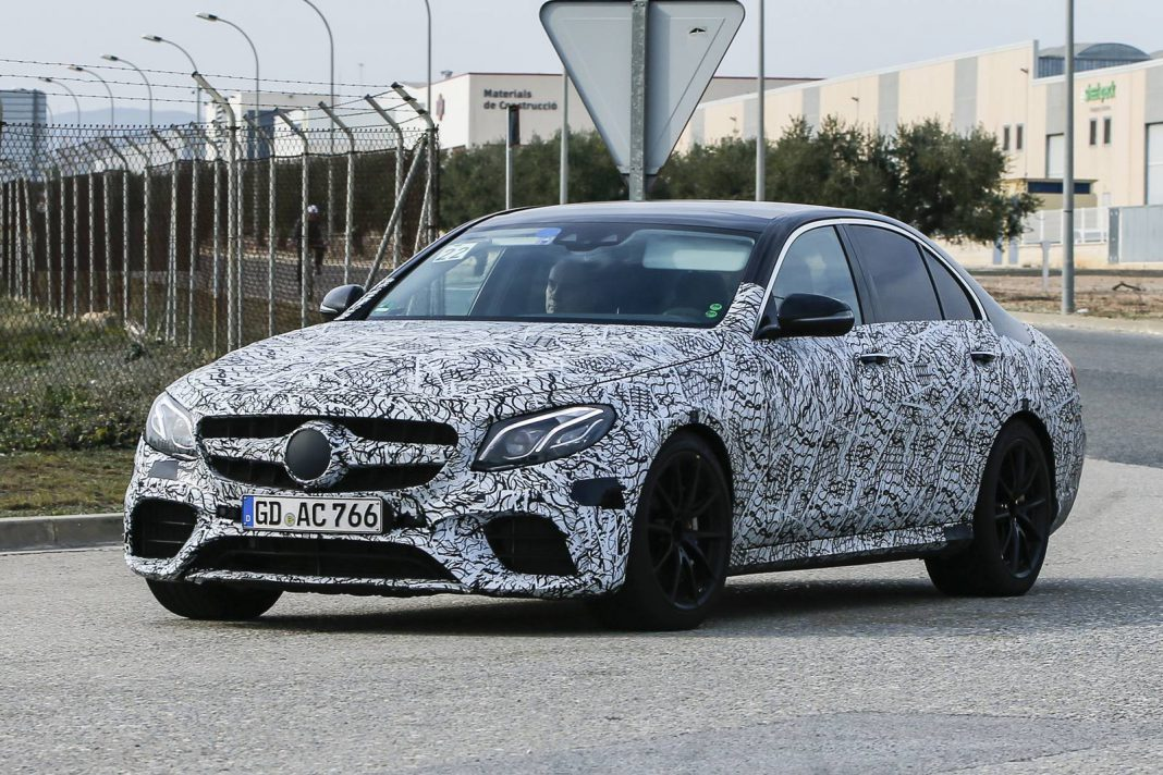 2018 mercedes amg e63 new spy shots gtspirit for Mercedes benz e63 amg 2018