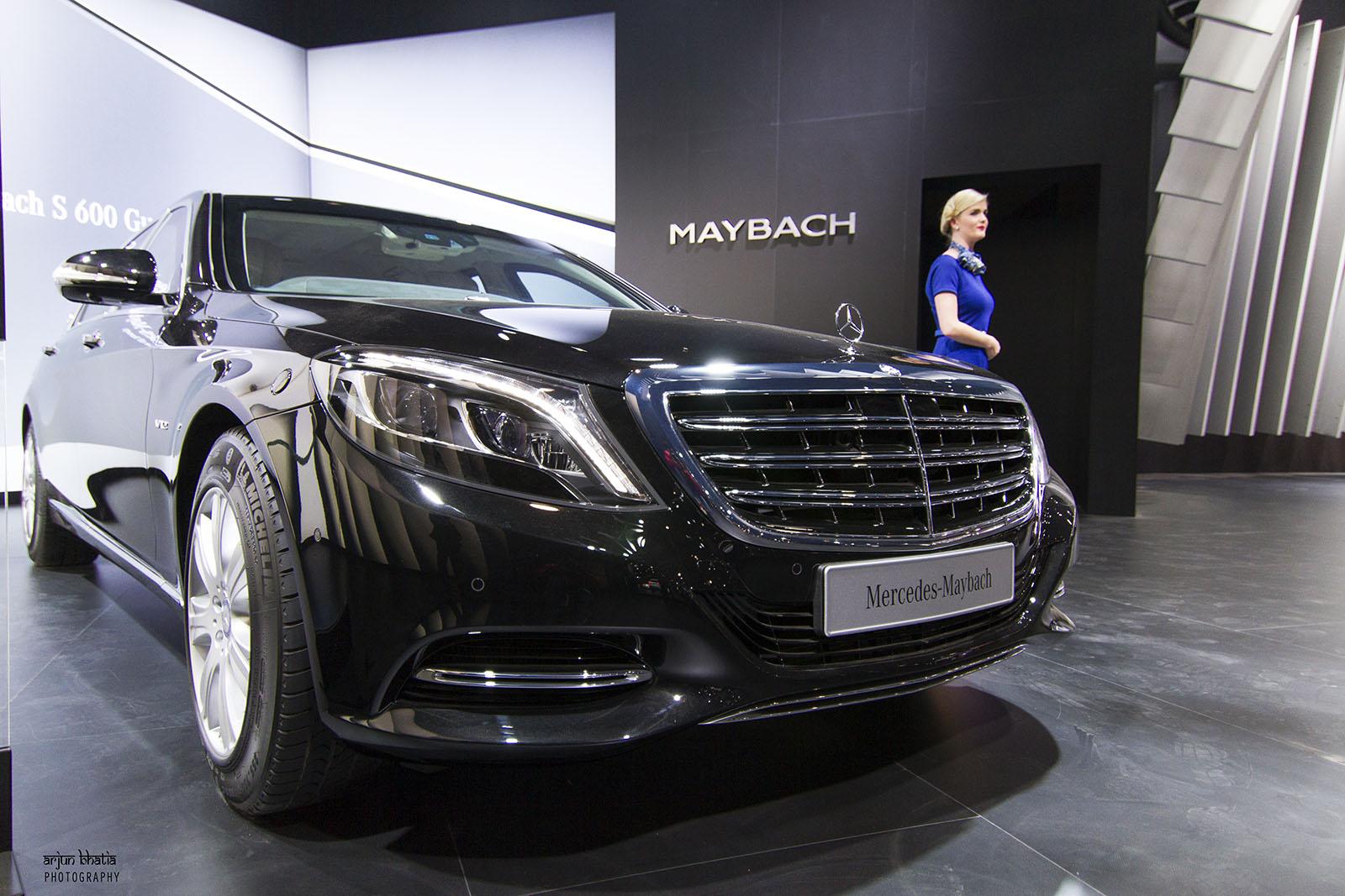 Mercedes-Maybach S600 Guard Delhi Auto Expo 2016 1