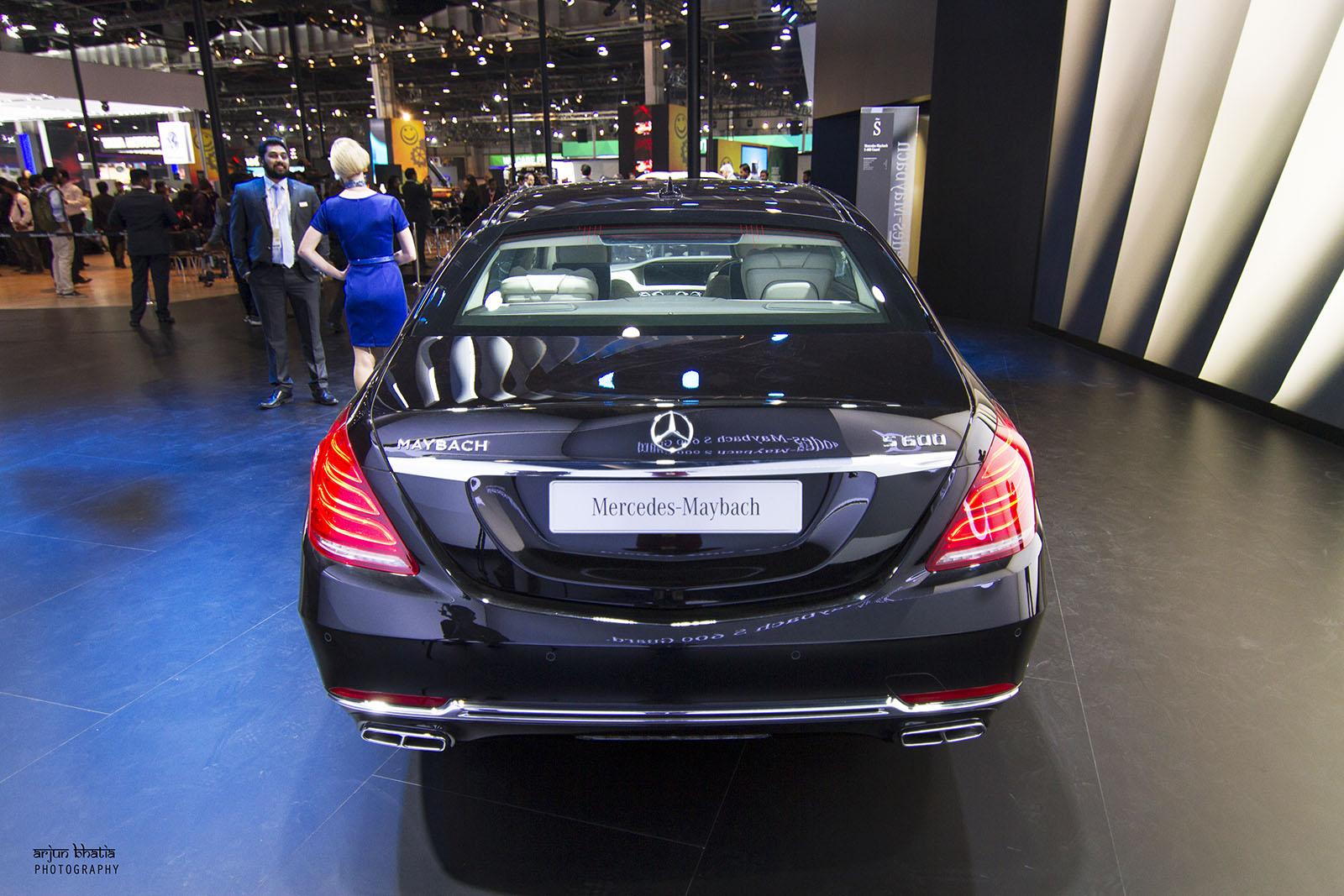 Mercedes-Maybach S600 Guard Delhi Auto Expo 2016 2