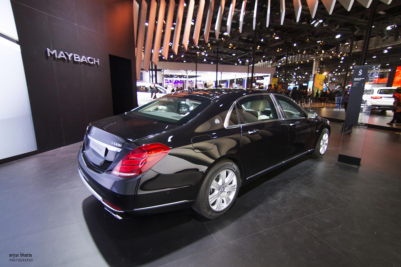 Mercedes-Maybach S600 Guard Delhi Auto Expo 2016 3