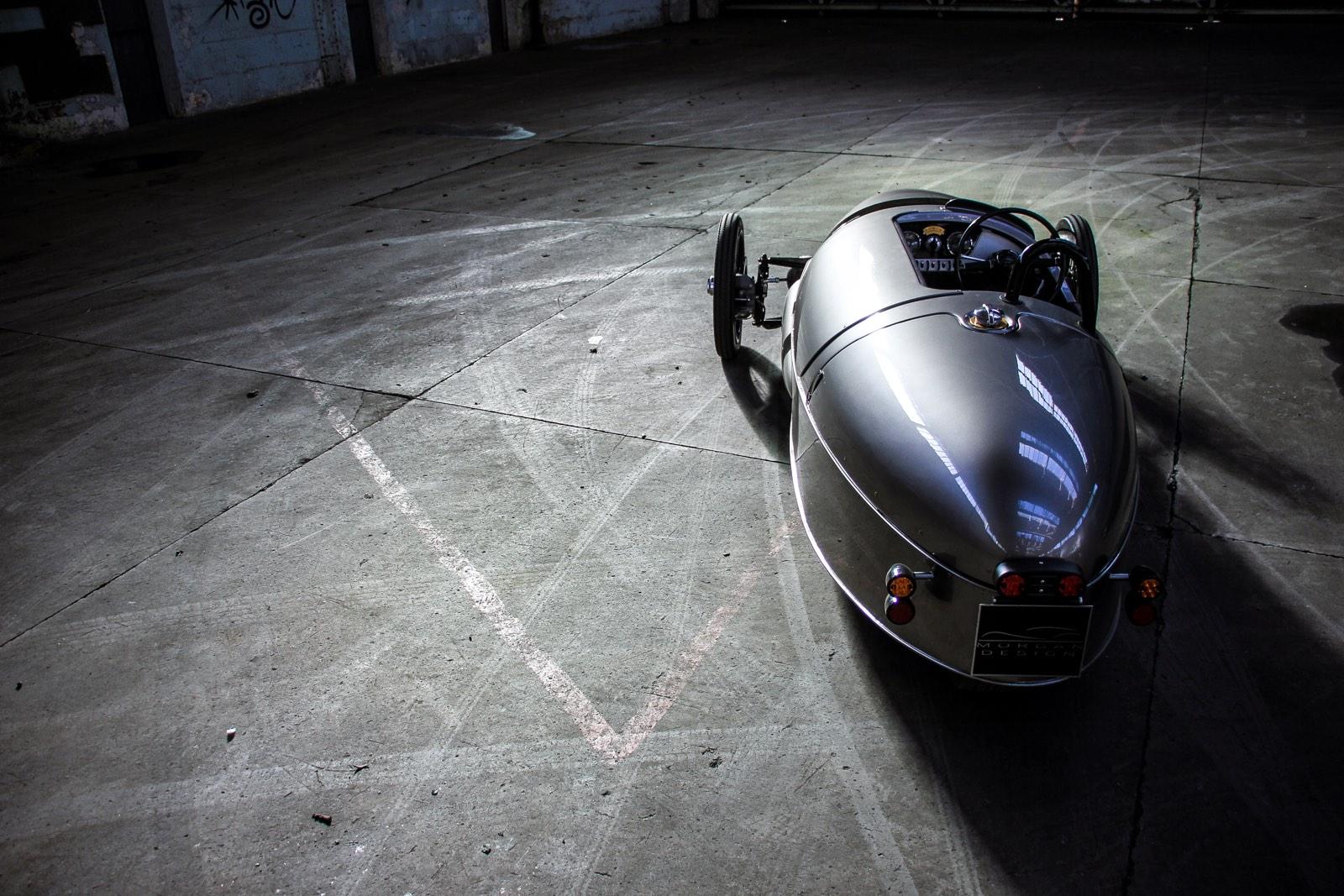 Morgan turns three-wheeler into EV3 electric runabout