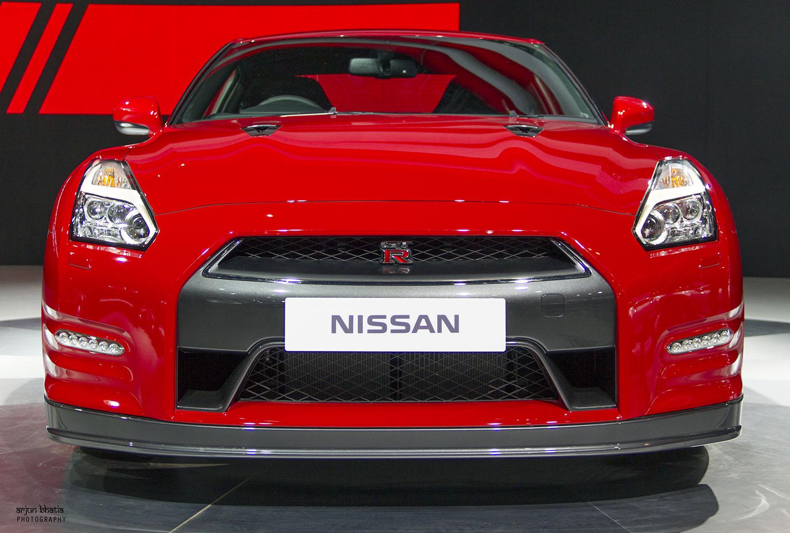 Nissan GT-R Delhi Auto Expo 2016 3