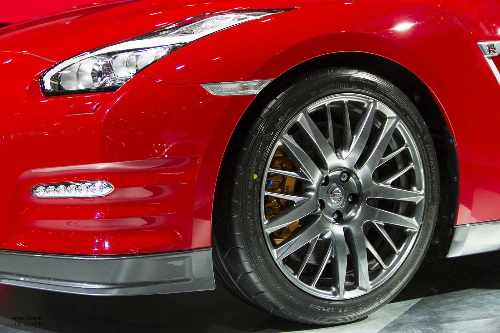 Nissan GT-R Delhi Auto Expo 2016 4