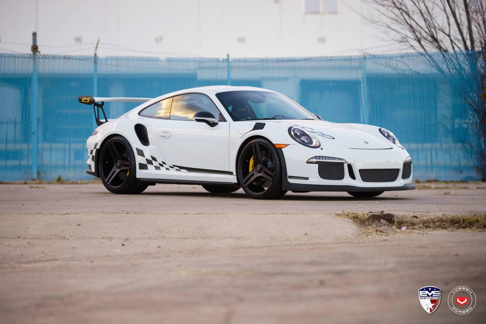 Porsche 911 Gt3 Rs Rides On Vossen Wheels Gtspirit