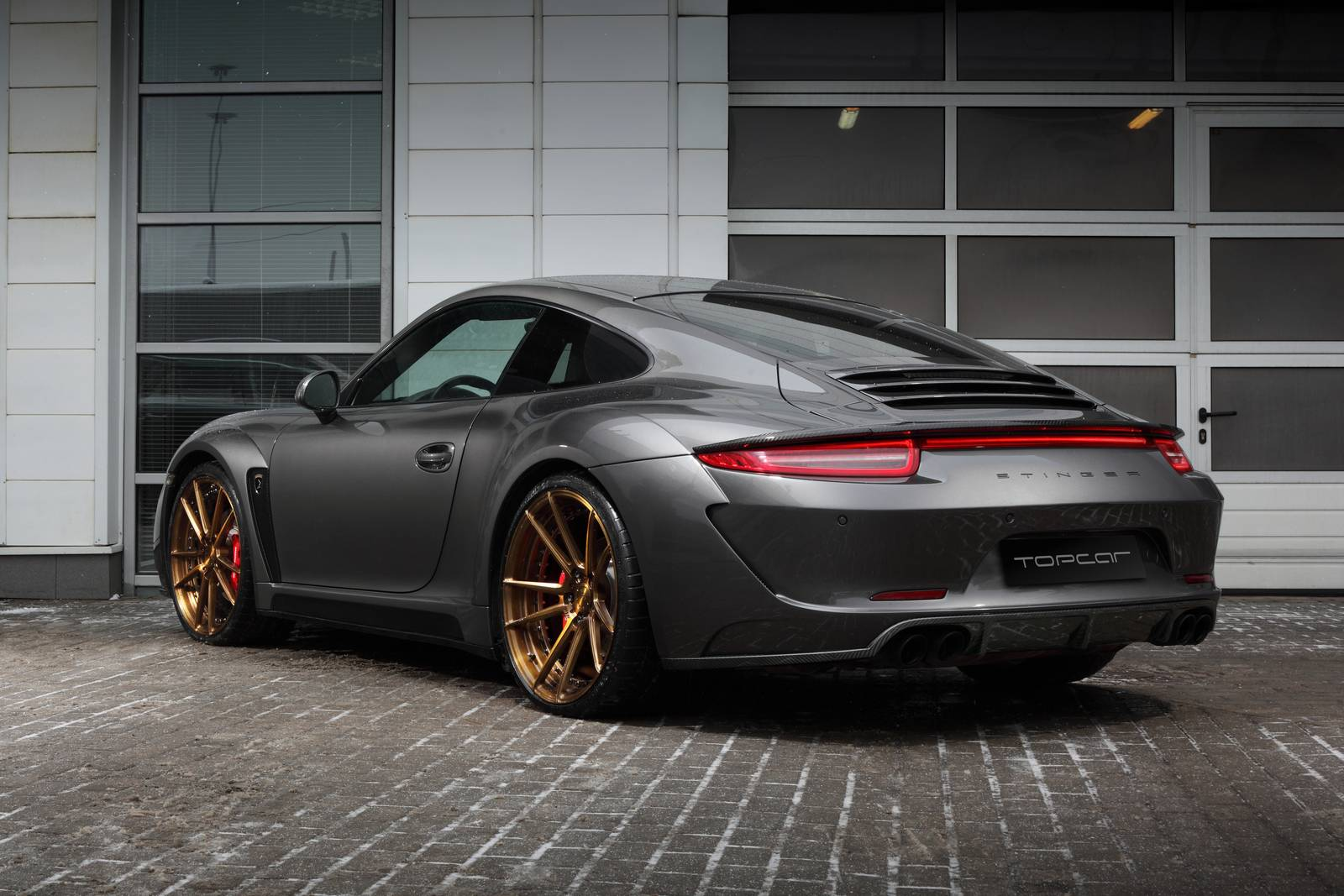 porsche carrera 4s stinger by topcar gtspirit. Black Bedroom Furniture Sets. Home Design Ideas