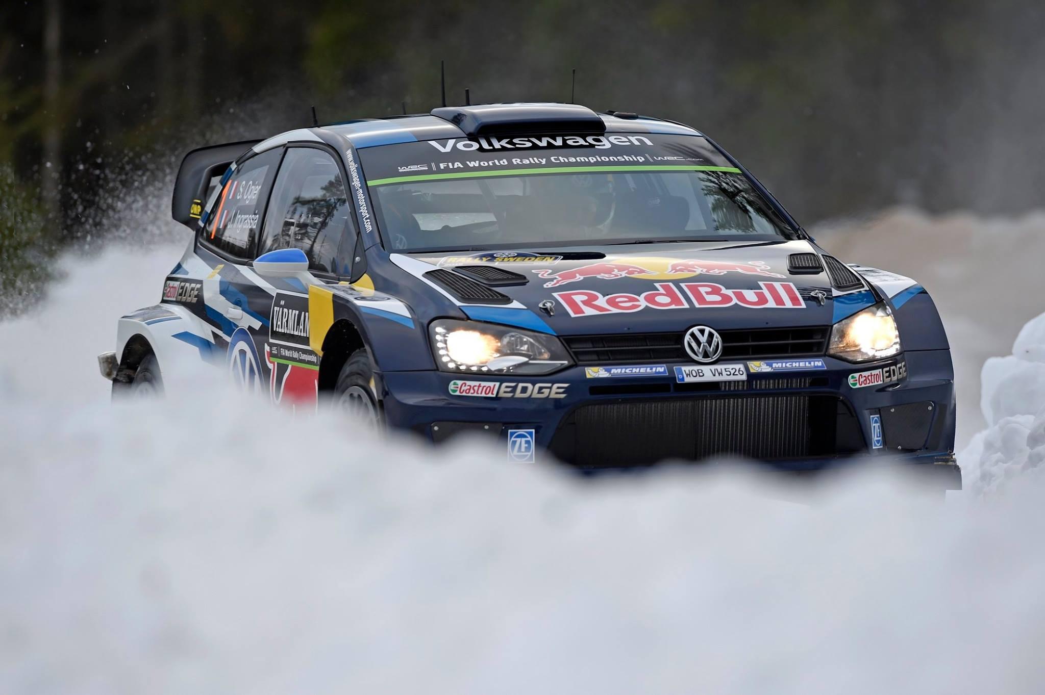 wrc sebastien ogier scores 3rd career win at rally sweden gtspirit. Black Bedroom Furniture Sets. Home Design Ideas