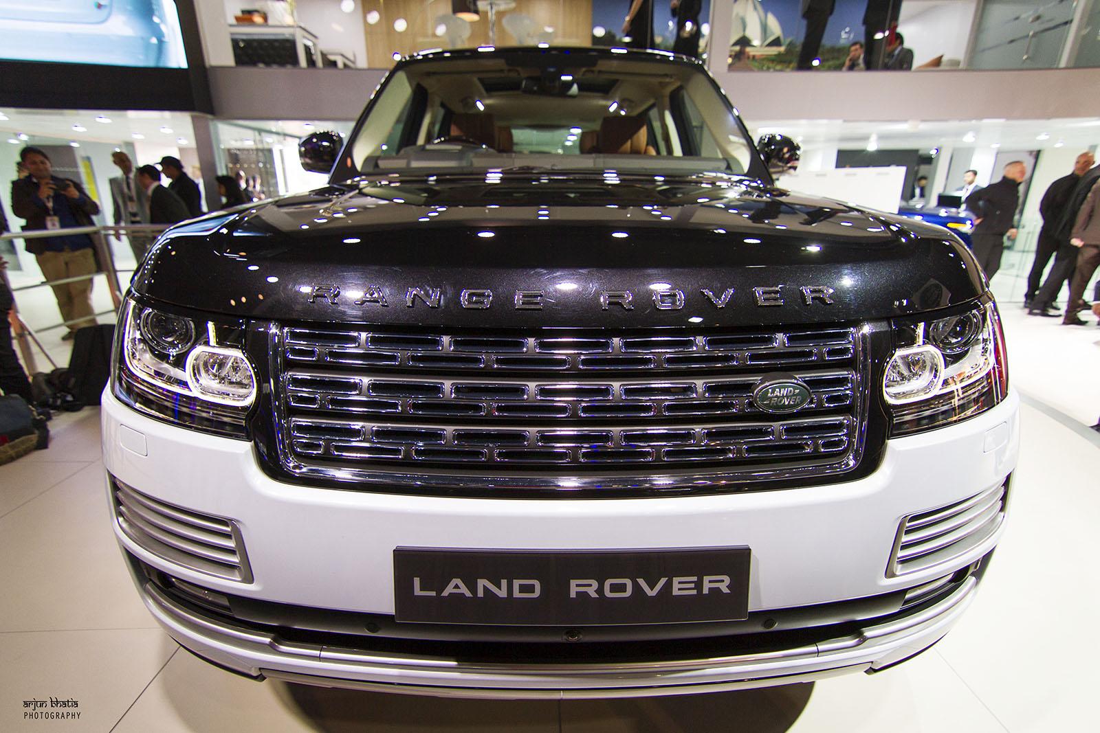 Range Rover SV Autobiography Delhi Auto Expo 2016 2