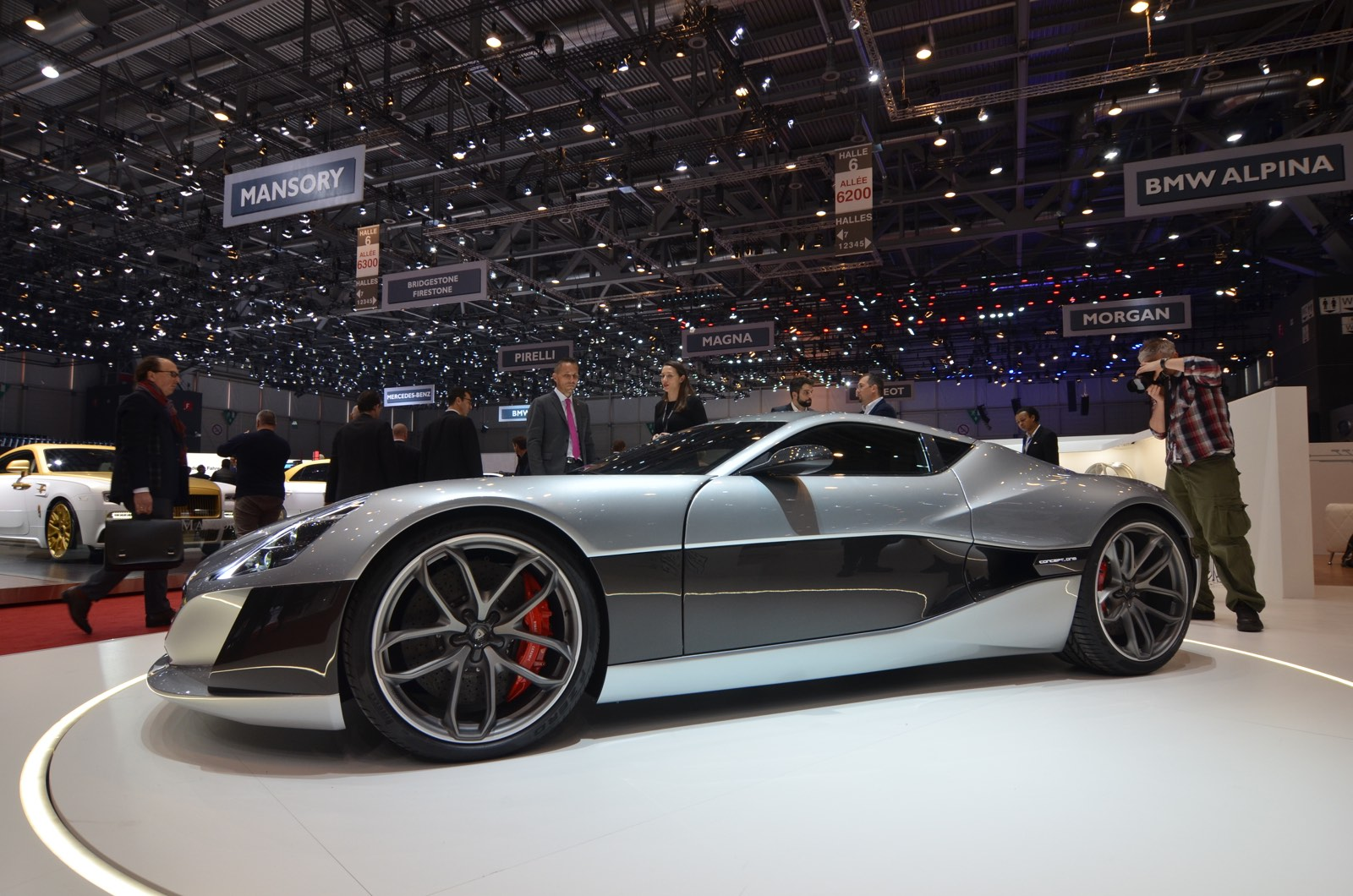 Rimac Concept_One at the Geneva Motor Show 2016