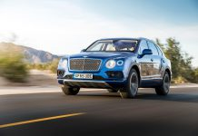 Sequin Blue Bentley Bentayga