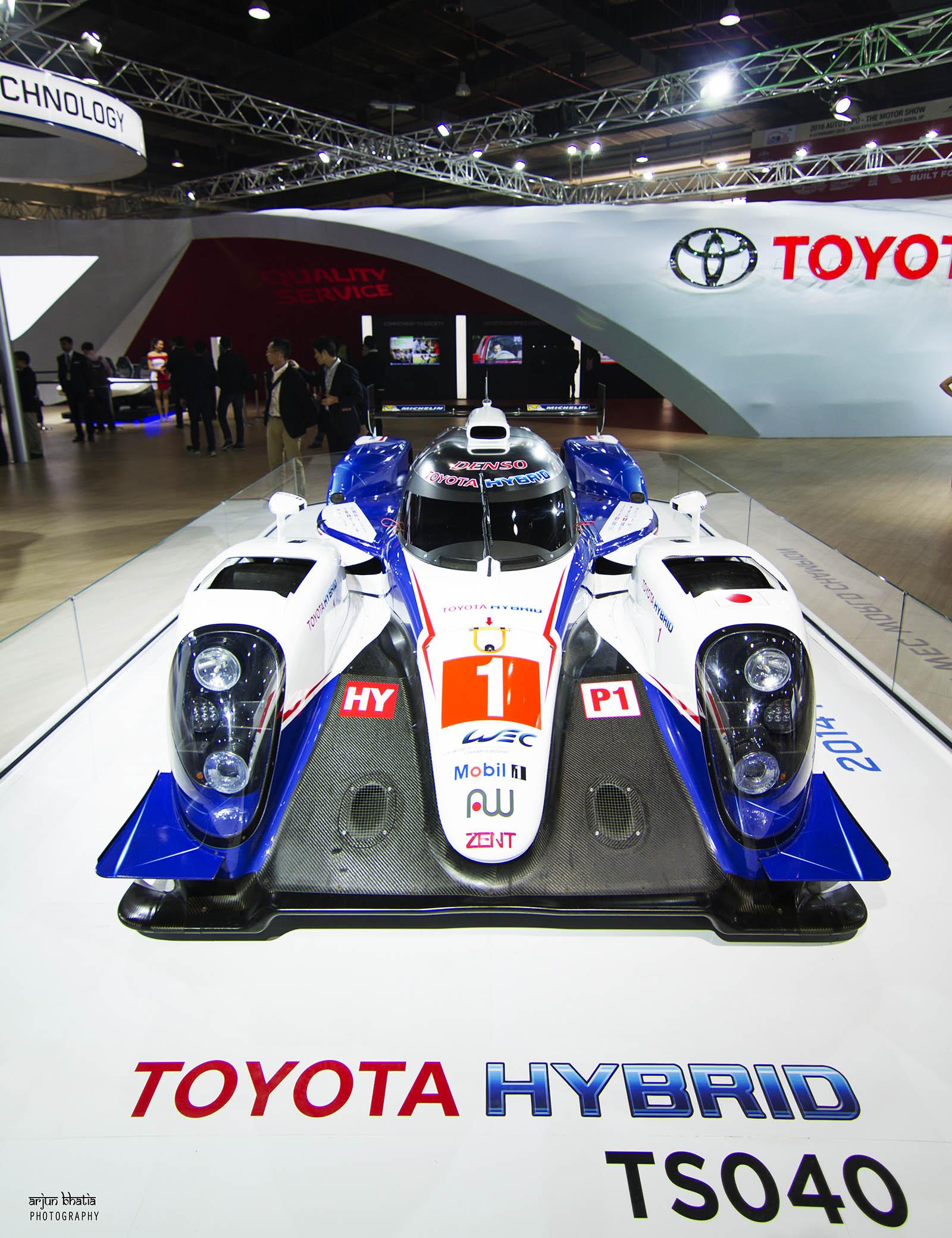 Toyota TS040 Hybrid Delhi Auto Expo 2