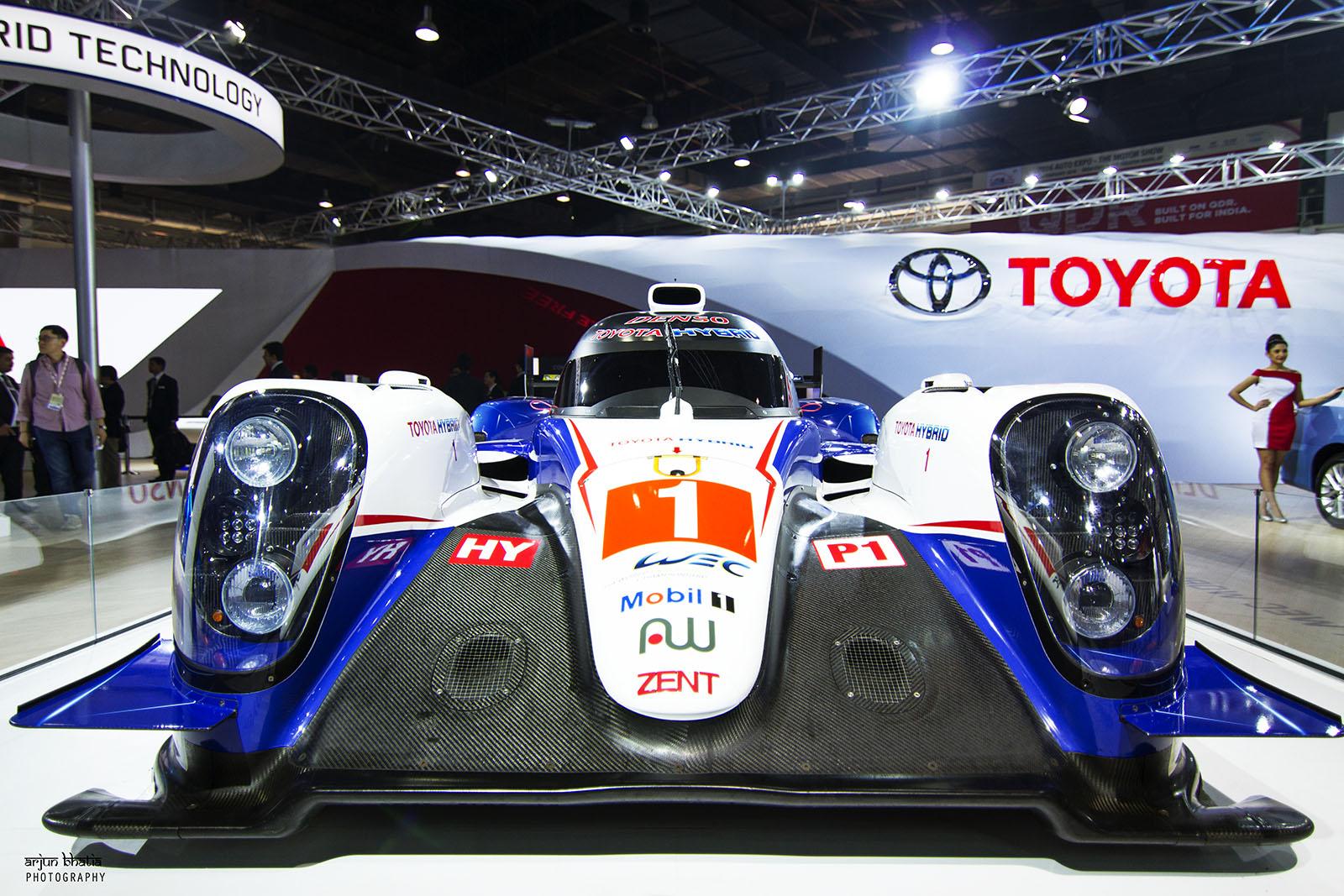 Toyota TS040 Hybrid Delhi Auto Expo 4