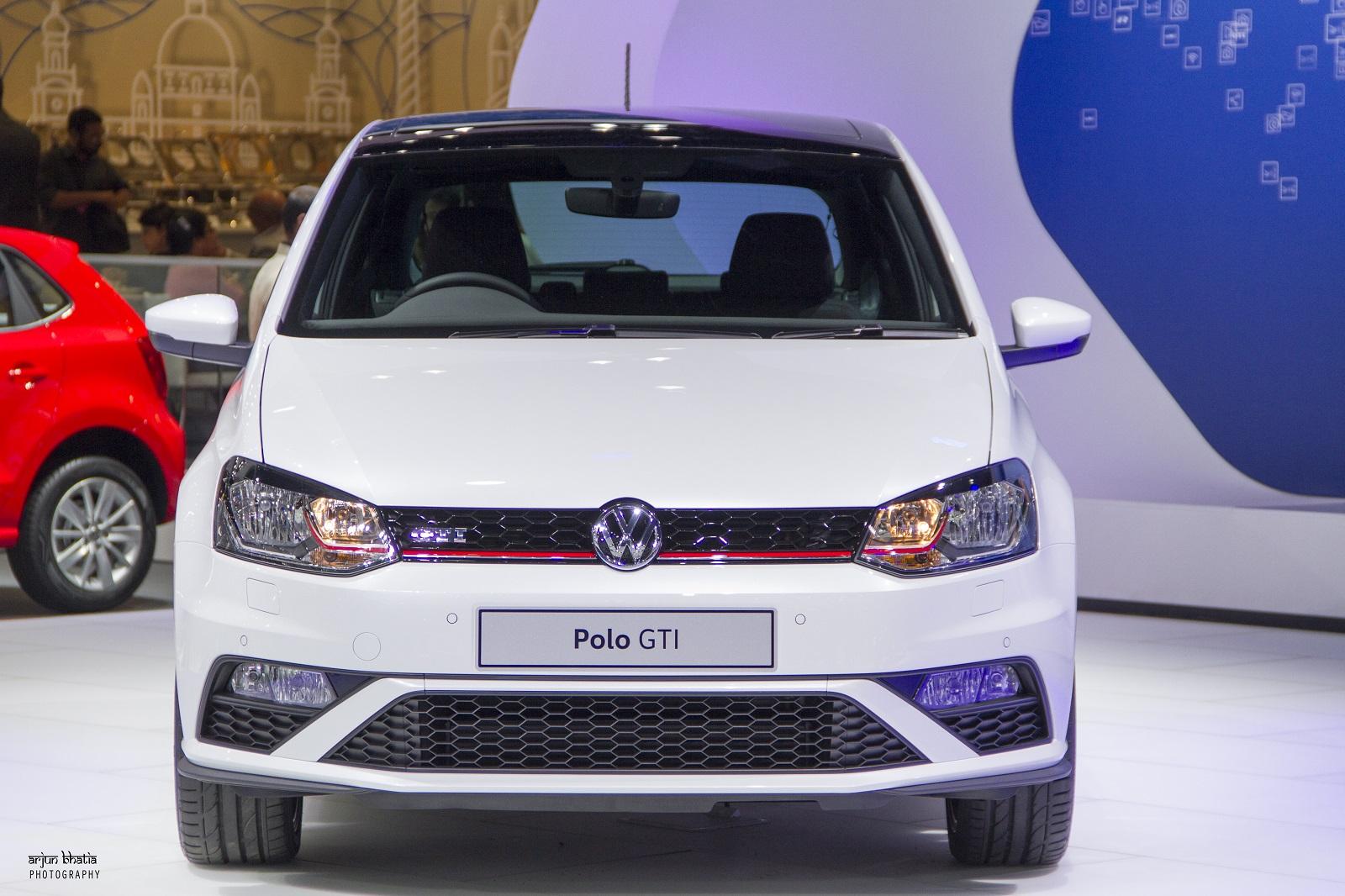 Volkswagen Polo GTI Delhi Auto Expo 2016 1