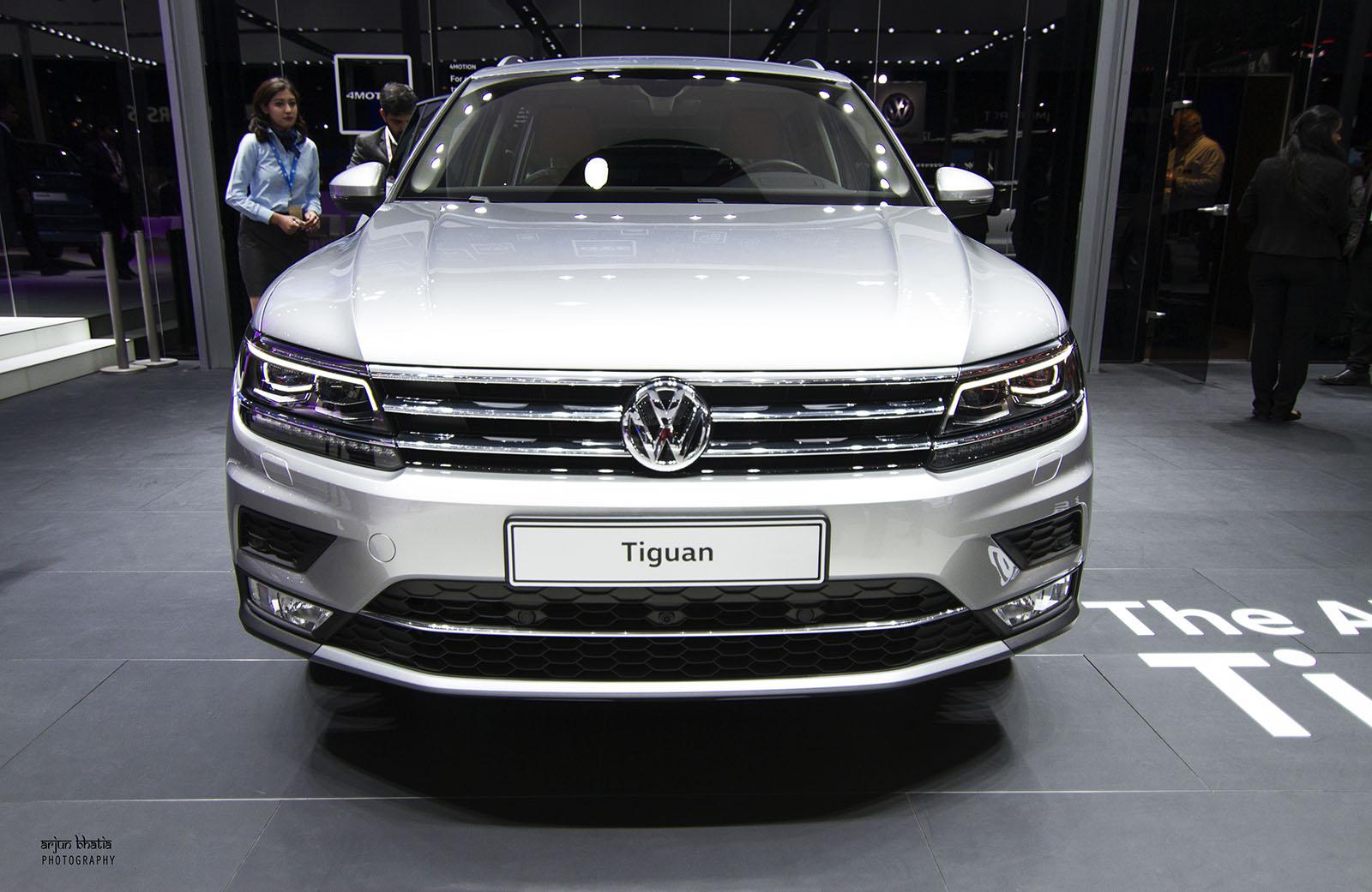 Volkswagen Tiguan Delhi Auto Expo 2016 1