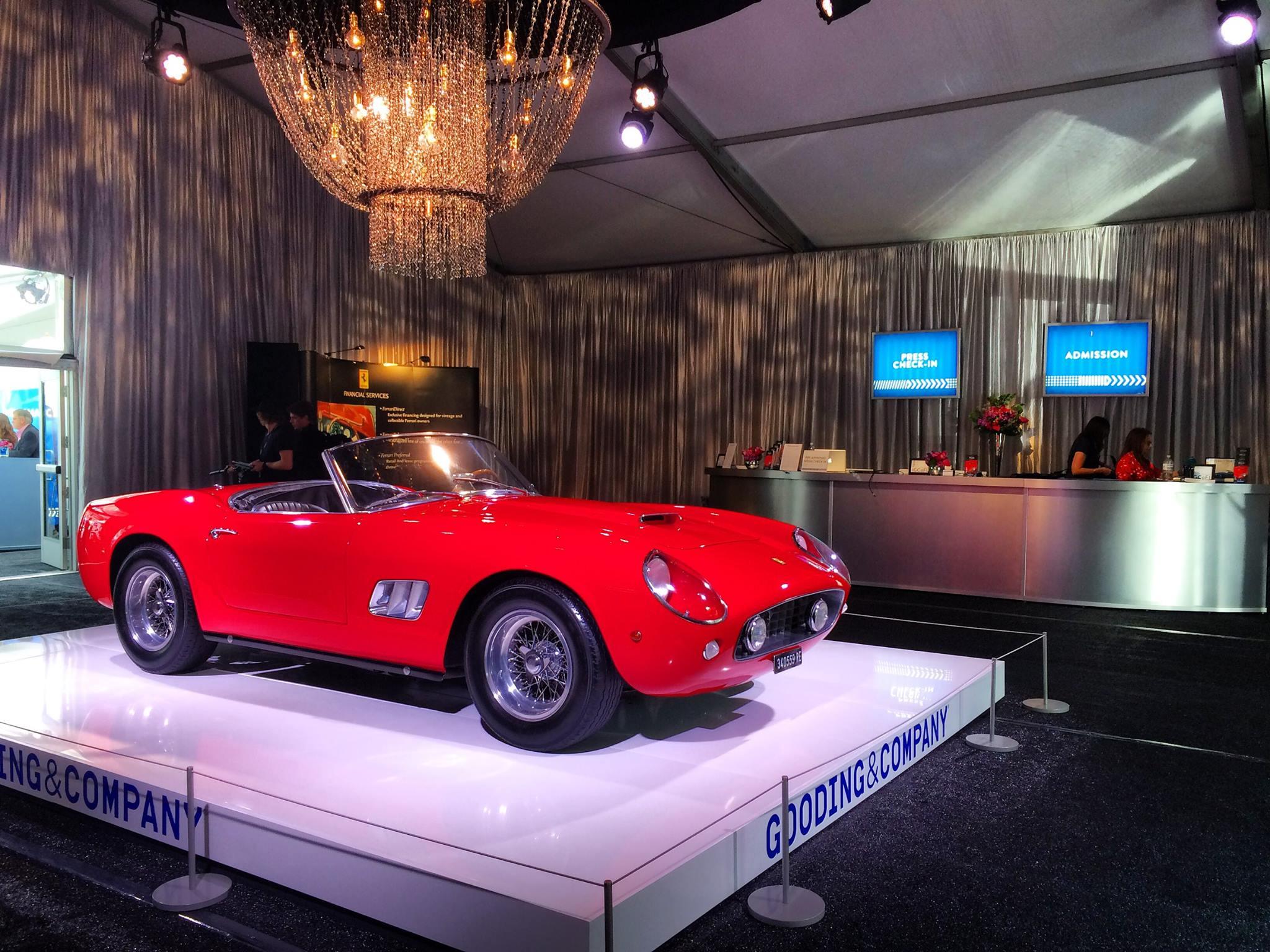 1961 Ferrari 250 Gt Swb California Spider Auctions For 17 1 Million Gtspirit