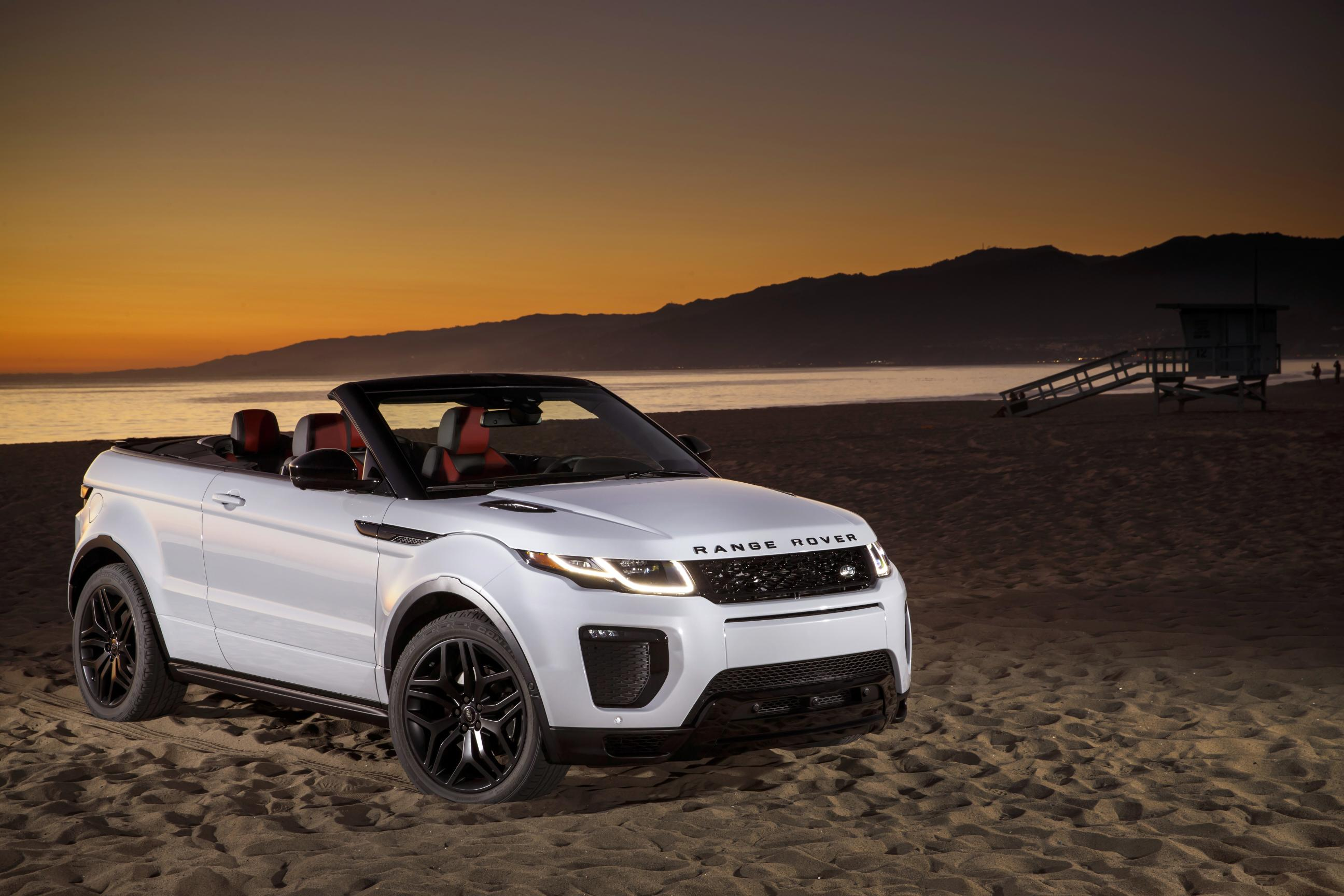 2016 range rover evoque convertible review gtspirit. Black Bedroom Furniture Sets. Home Design Ideas
