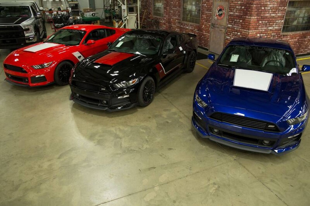 2016 roush warrior ford mustang gets new look gtspirit. Black Bedroom Furniture Sets. Home Design Ideas
