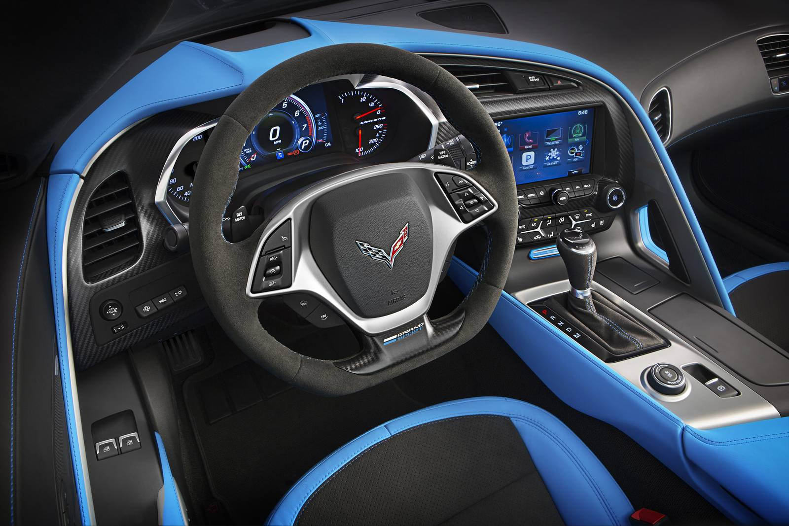 official 2017 chevrolet corvette grand sport gtspirit. Black Bedroom Furniture Sets. Home Design Ideas