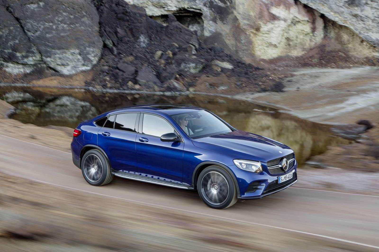 2017 Mercedes Benz Glc Coupe Breaking