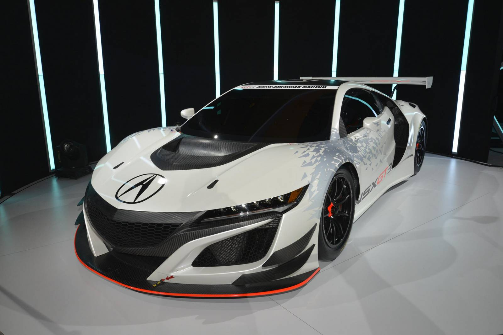new york 2016 acura nsx gt3 gtspirit. Black Bedroom Furniture Sets. Home Design Ideas