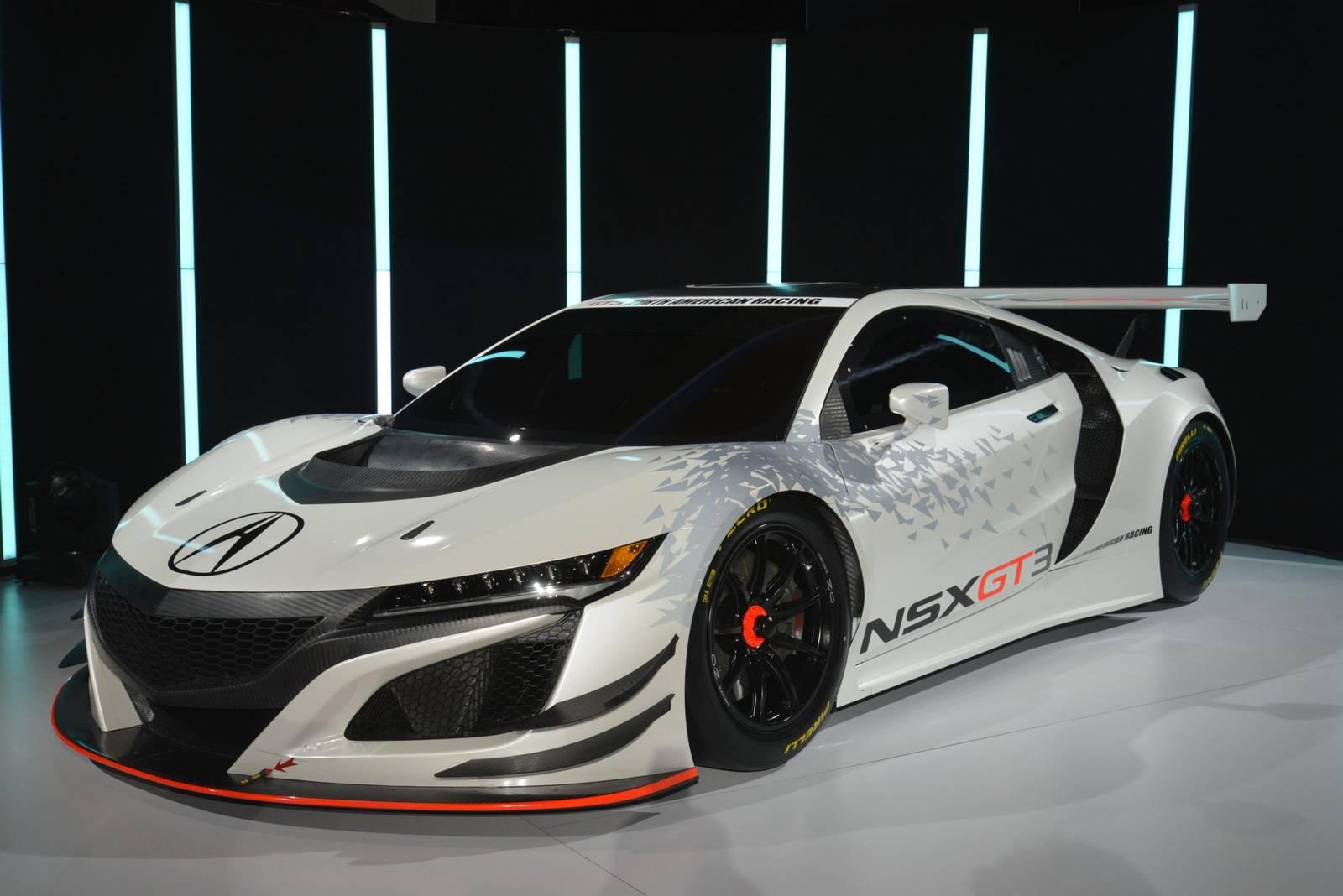 New York 2016: Acura NSX GT3 - GTspirit