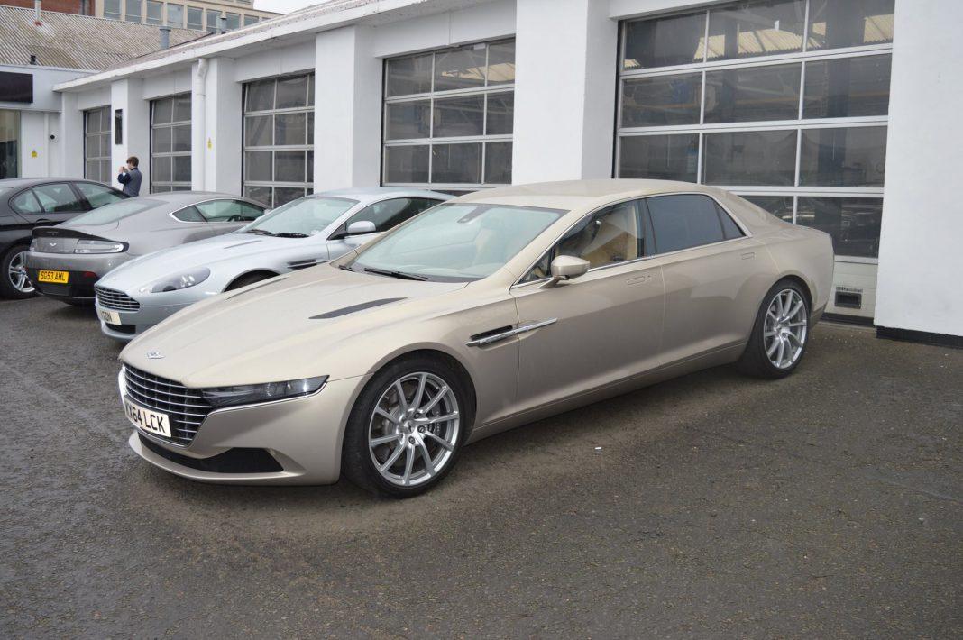 Rare Aston Martin Lagonda Taraf Snapped In Scotland