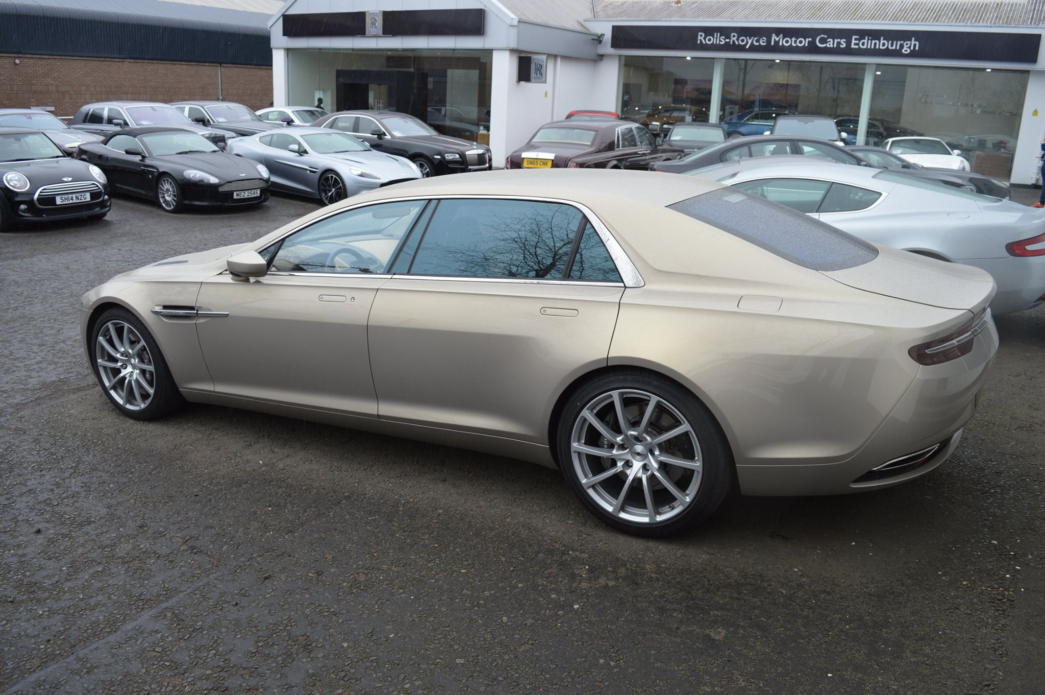 Rare Aston Martin Lagonda Taraf Snapped In Scotland