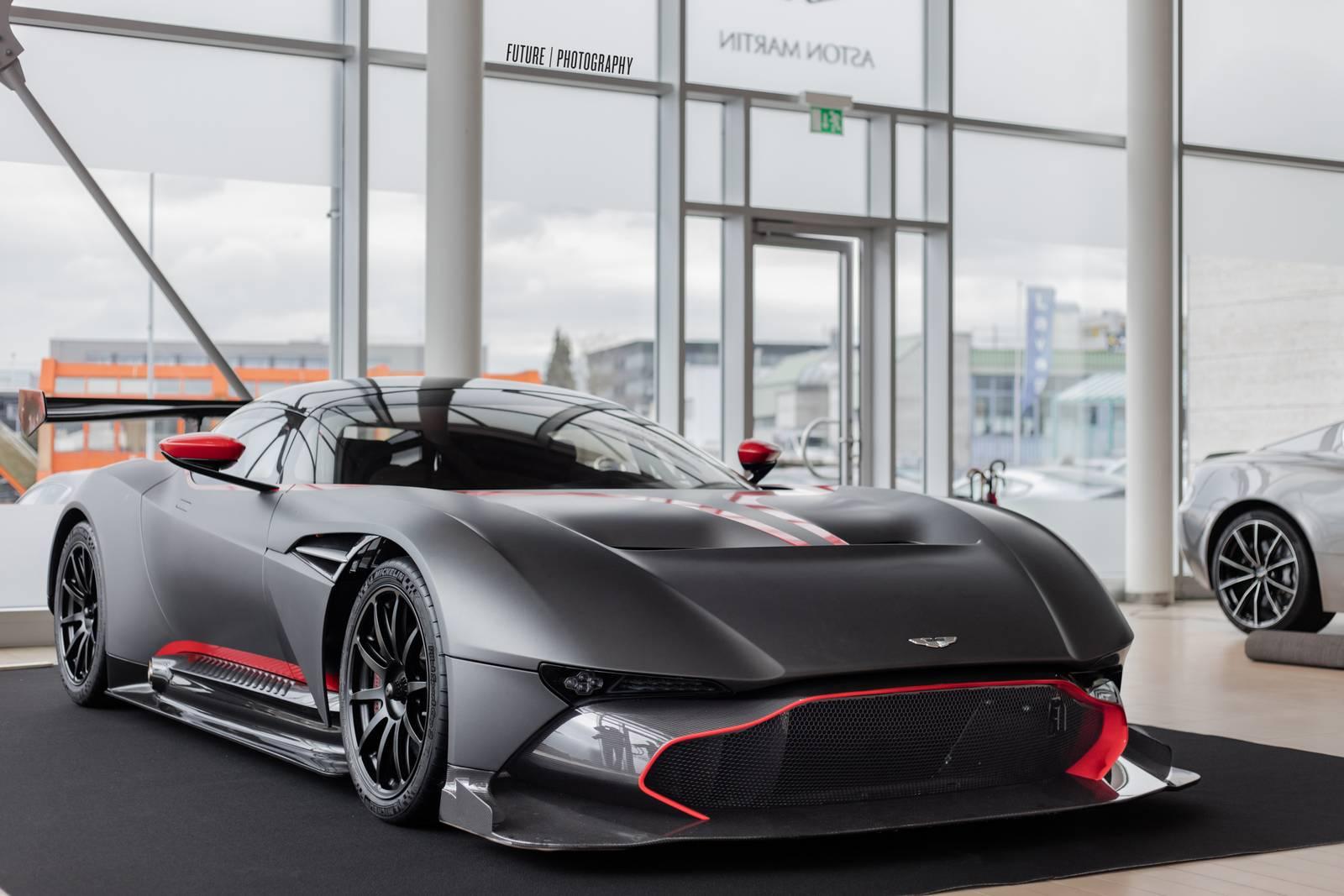 Stunning Matte Black Aston Martin Vulcan Gtspirit