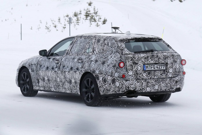 BMW 5 Series Estate Spy Shots