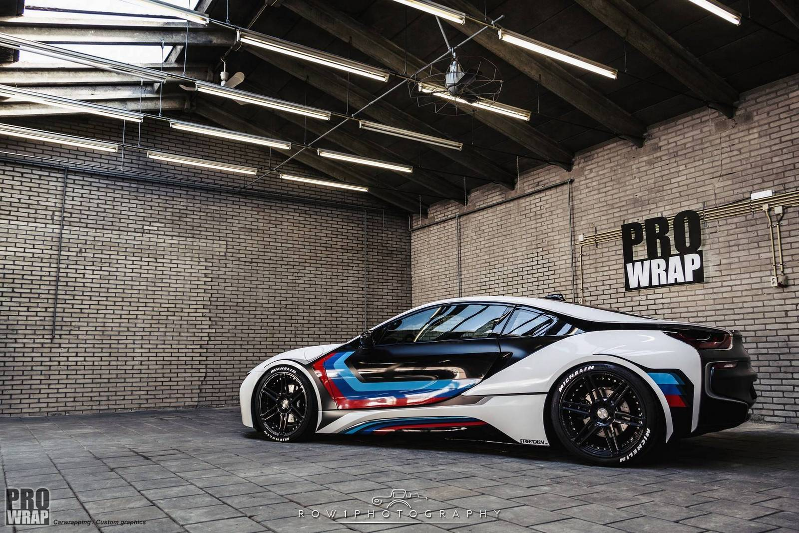 Custom Wrapped Bmw I8 By Prowrap In The Netherlands Gtspirit
