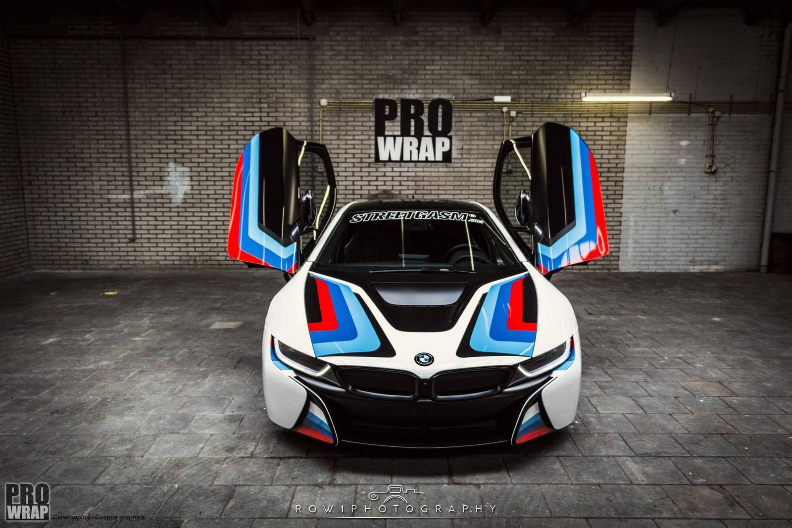 Custom Wrapped BMW i8 by Prowrap in The Netherlands - GTspirit