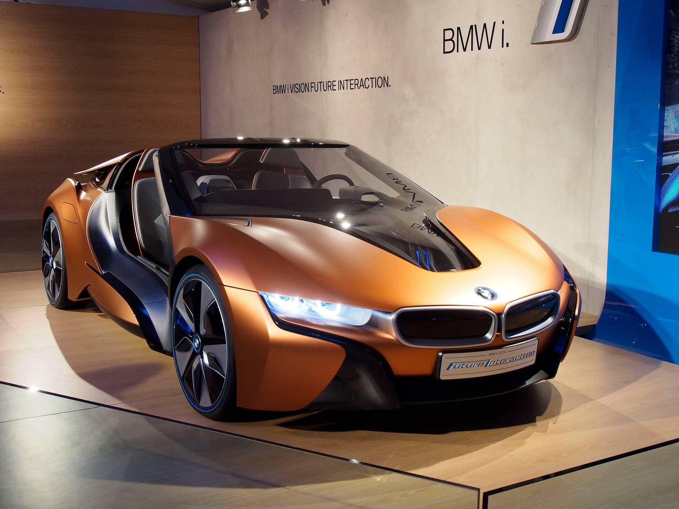 Bmw Confirms Three New I Models I8 Roadster New I3 Amp I