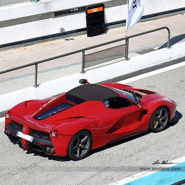 Ferrari F8 Tributo Imagined As A Spider: Ferrari LaFerrari Spider New Renderings