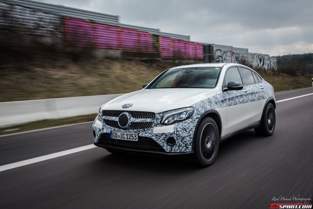 Exclusive first impression mercedes benz glc coupe gtspirit for New mercedes benz supercar