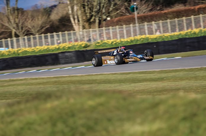 Goodwood Members Meeting Ground Effect F1 Cars