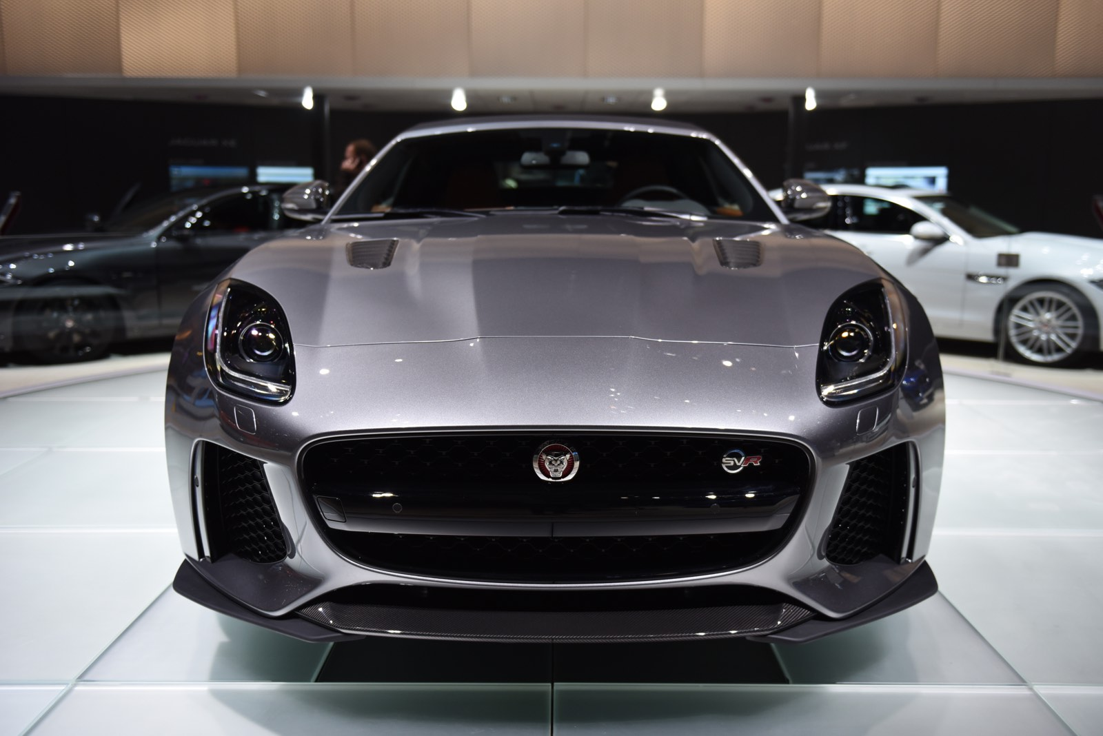 Jaguar F Type R Exhaust >> Geneva 2016: Jaguar F-Type SVR - GTspirit
