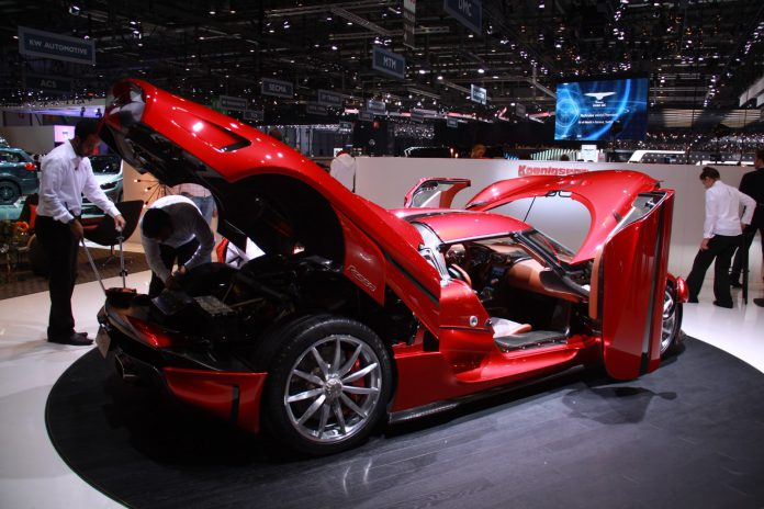 Koenigsegg Regera1