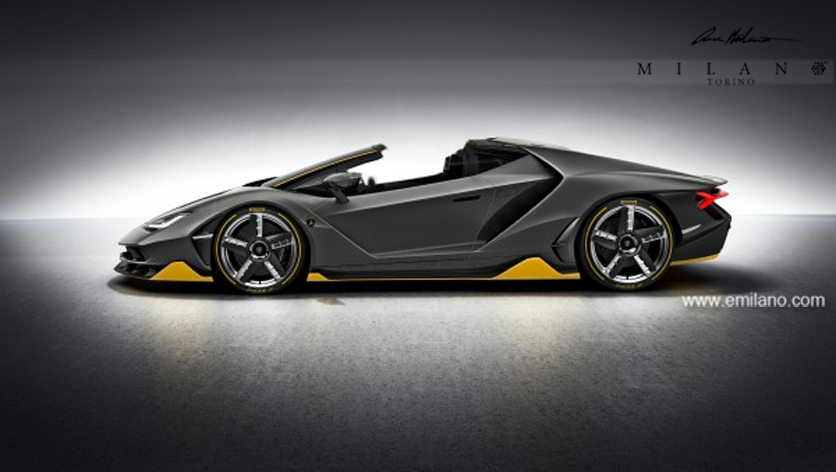 Lamborghini Centenario Roadster Already Imagined Gtspirit