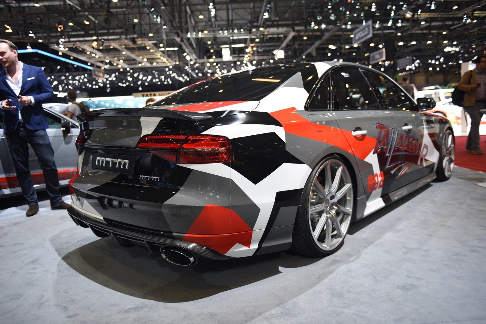 Geneva 2016: MTM Audi S8 Talladega R - GTspirit