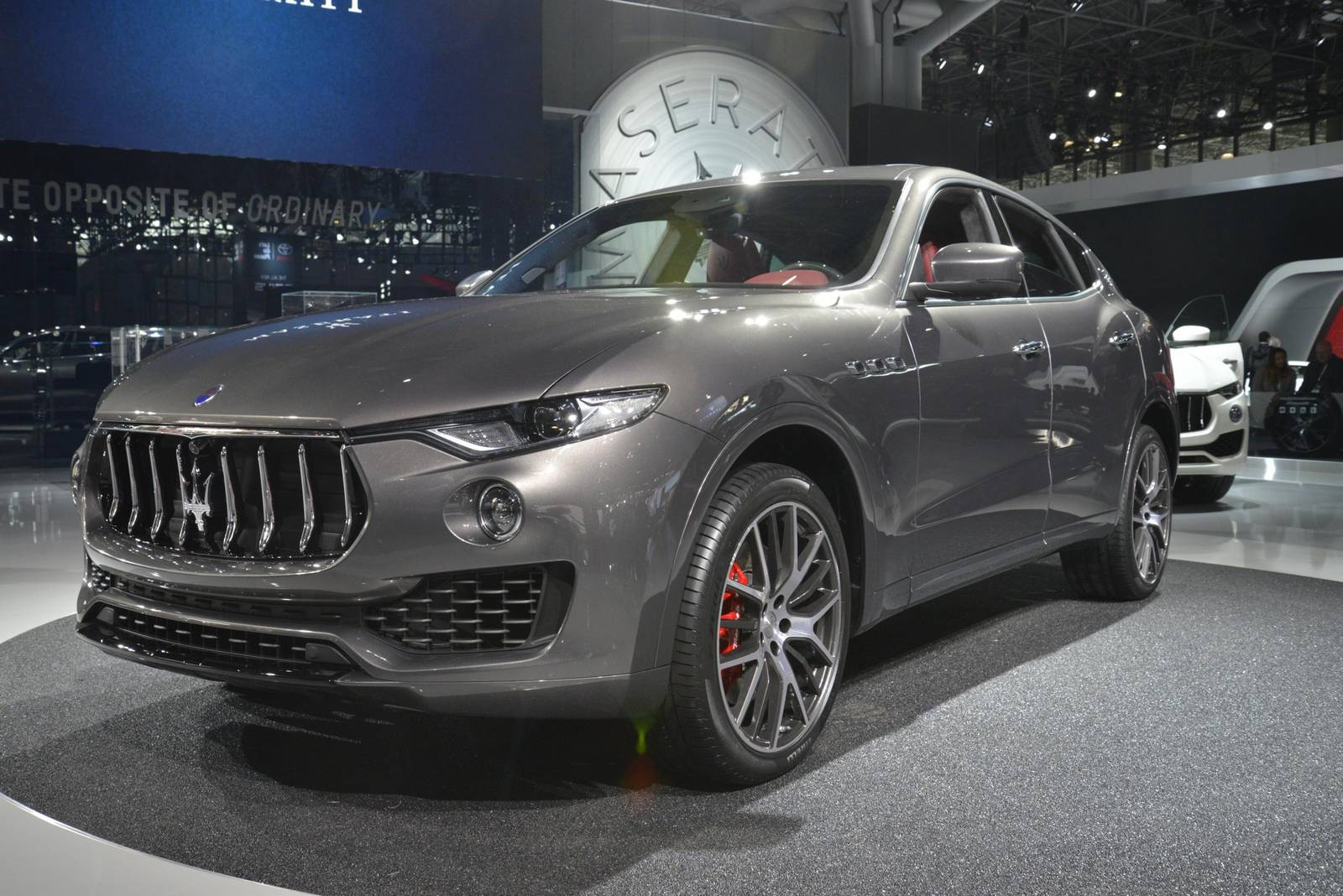 new york 2016 maserati levante gtspirit. Black Bedroom Furniture Sets. Home Design Ideas