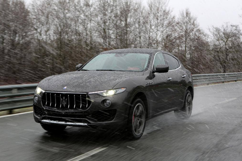 gallery 2017 maserati levante suv in the wild gtspirit. Black Bedroom Furniture Sets. Home Design Ideas