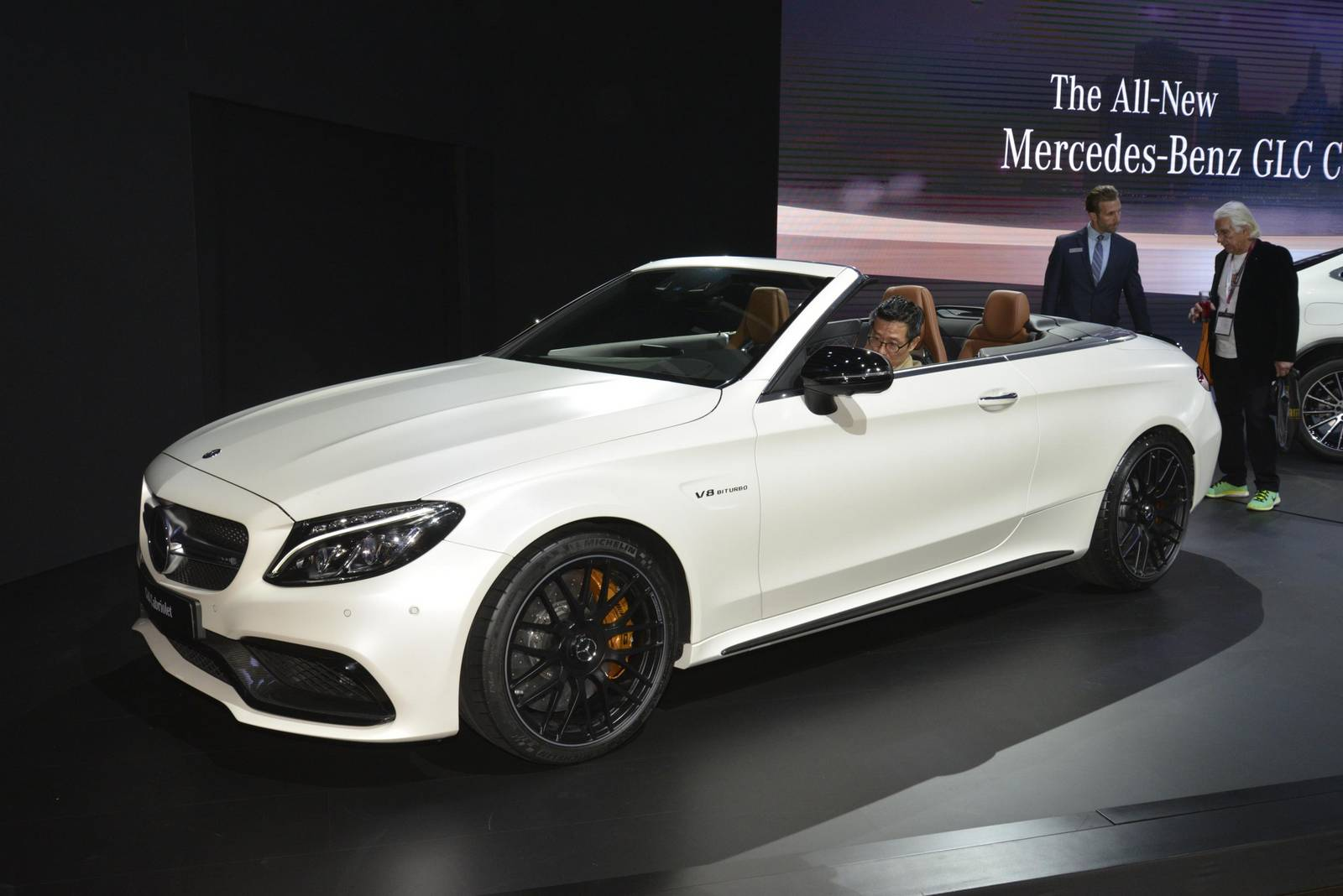 new york 2016 mercedes amg c 63 cabriolet gtspirit. Black Bedroom Furniture Sets. Home Design Ideas