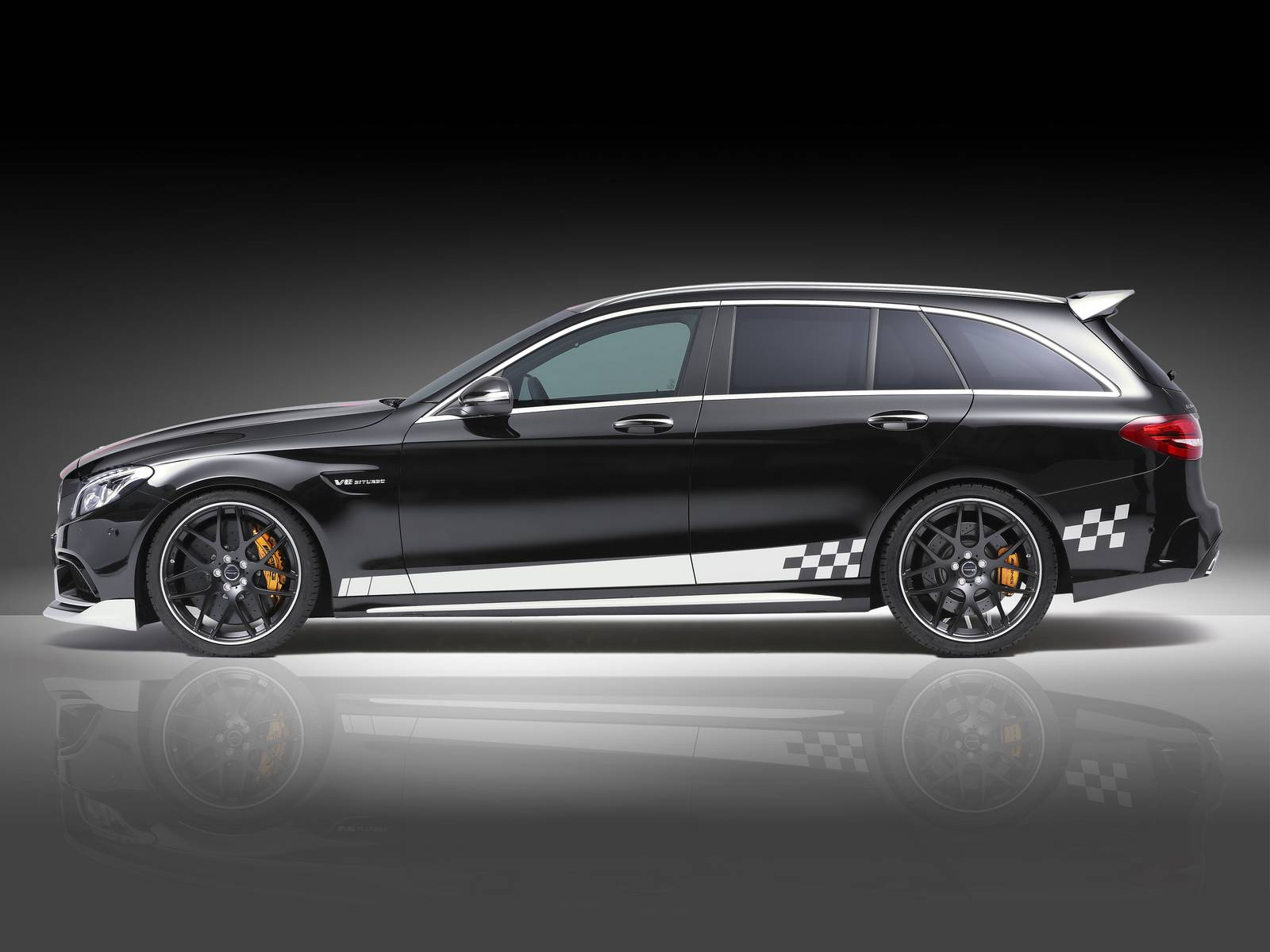 "Official: Mercedes-AMG C63 Estate ""Rottweiler"" by Piecha ..."