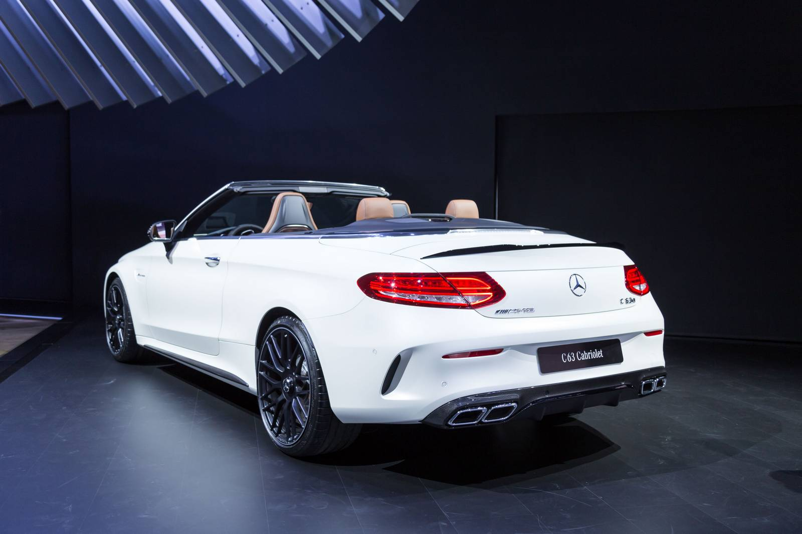 New York 2016 Mercedes Amg C 63 Cabriolet Gtspirit