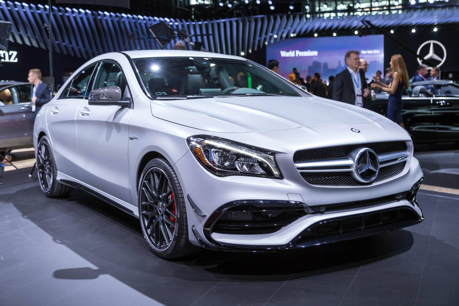 New York 2016 Mercedes Amg Cla 45 Gtspirit
