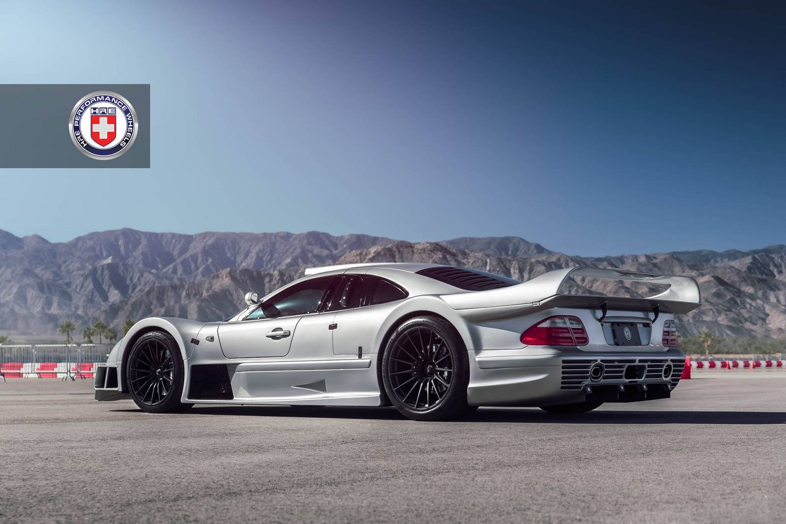 Stunning mercedes benz clk gtr with satin black hre wheels for Mercedes benz clk