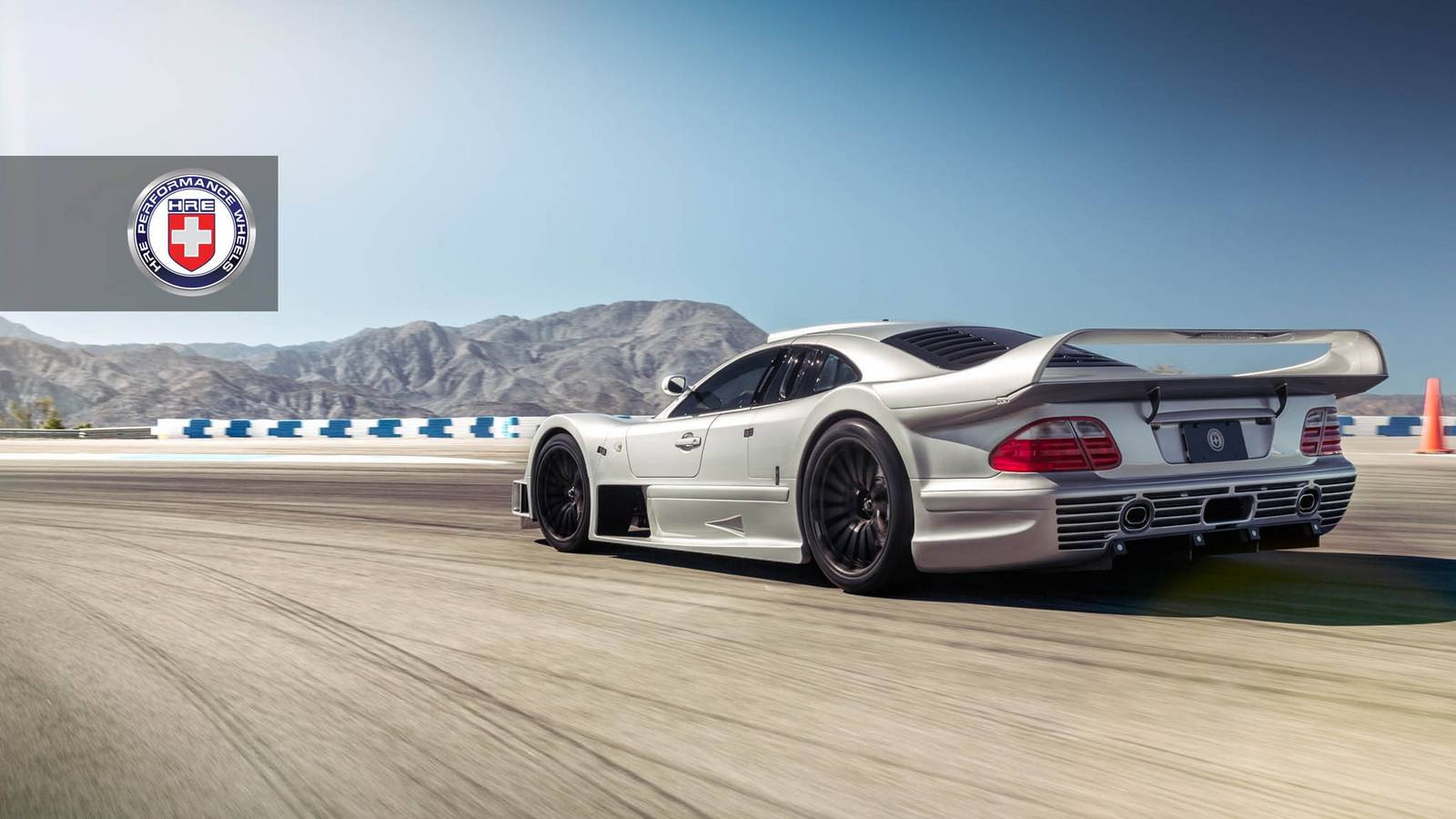 Stunning mercedes benz clk gtr with satin black hre wheels for Mercedes benz in phoenix