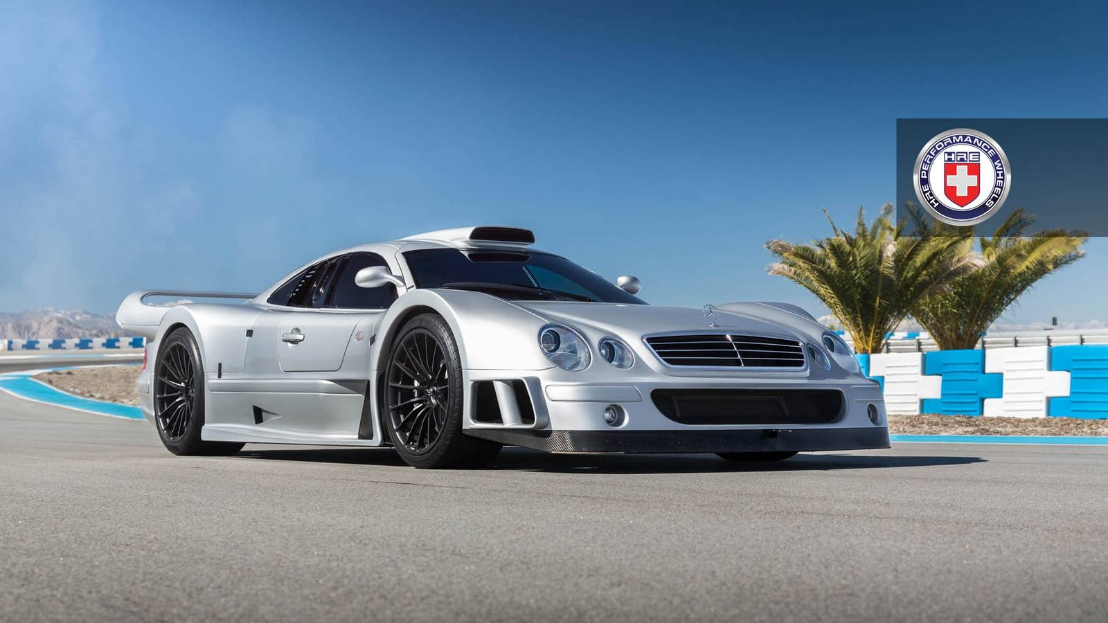 Stunning Mercedes Benz Clk Gtr With Satin Black Hre Wheels