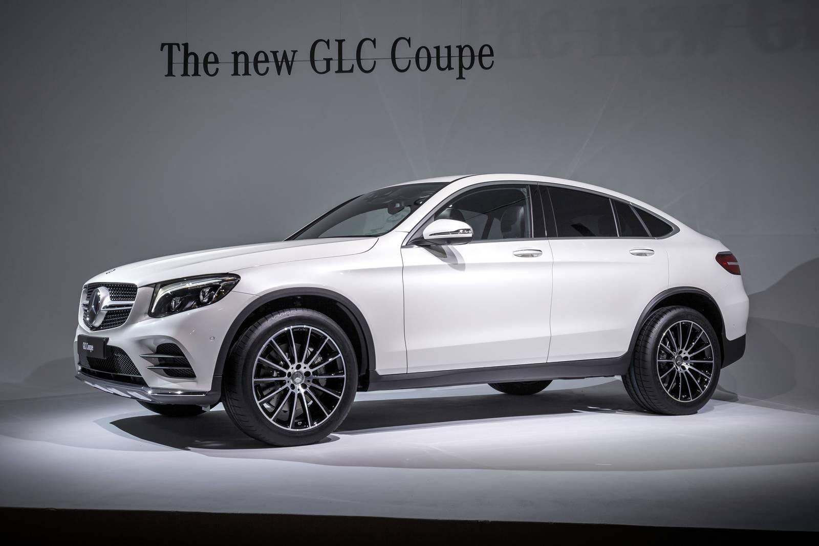 2017 Mercedes Benz Glc Coupe